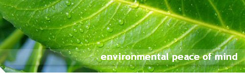 environmental peace of mind